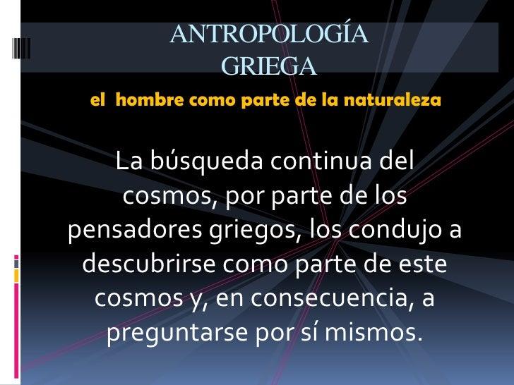 Antropología filosófica Slide 3