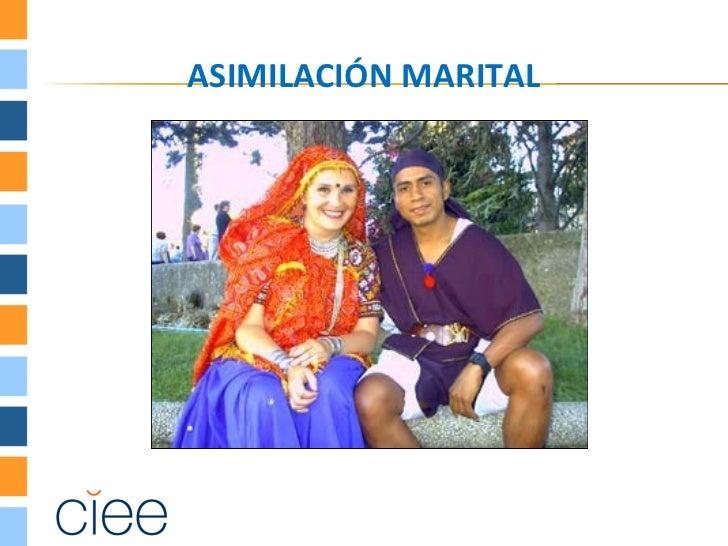 ASIMILACIÓN MARITAL