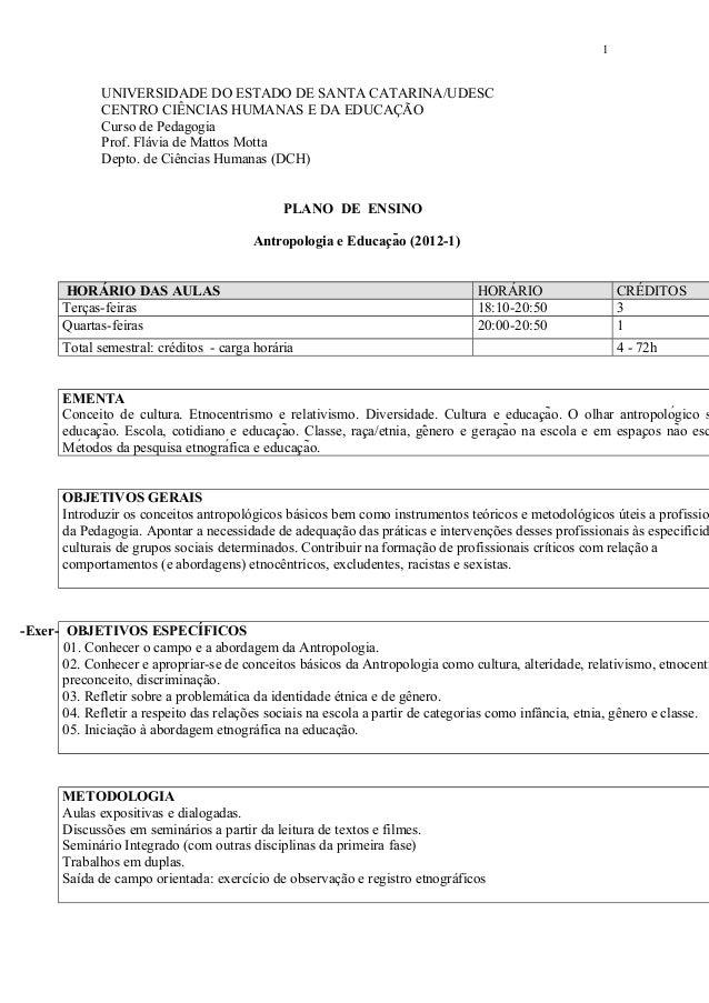 UNIVERSIDADE DO ESTADO DE SANTA CATARINA/UDESC CENTRO CIÊNCIAS HUMANAS E DA EDUCAÇÃO Curso de Pedagogia Prof. Flávia de Ma...