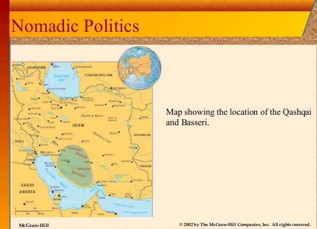 basseri nomads of iran The basseri of iran cratina coody-bjorkland ant101: introduction to cultural anthropology professor christine crompton october 10, 2011 i will be studying one of the prime examples of a pastoral tribe, the basseri, which is one of the native pastoral nomad's tribes who inhabit in the south of iran.