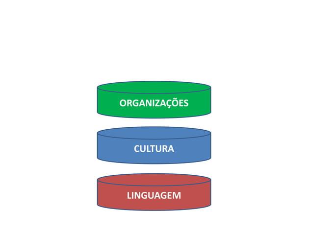 LINGUAGEM CULTURA ORGANIZAÇÕES