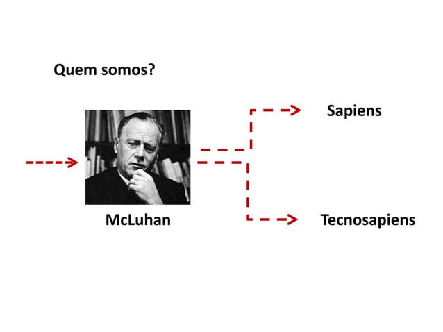 McLuhan Sapiens Tecnosapiens Quem somos?