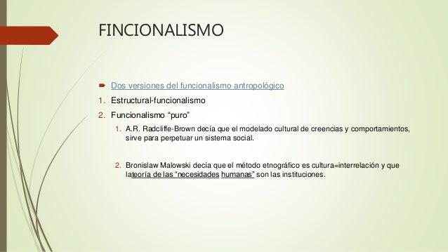 Antropologia Funcionalismo