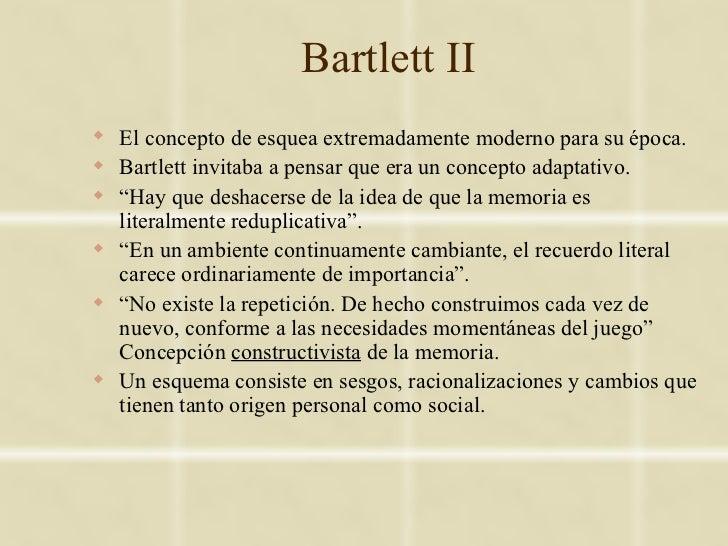 Bartlett II El concepto de esquea extremadamente moderno para su época. Bartlett invitaba a pensar que era un concepto a...