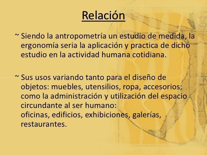 Antropometr a ergonomia y metodologia for Antropometria de la vivienda
