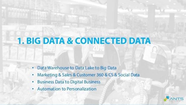 2. AUDIENCE & 360 CUSTOMER PROFILE • Data Management Platform • Data Customer Platform • Marketing & Sales & Customer 360 ...