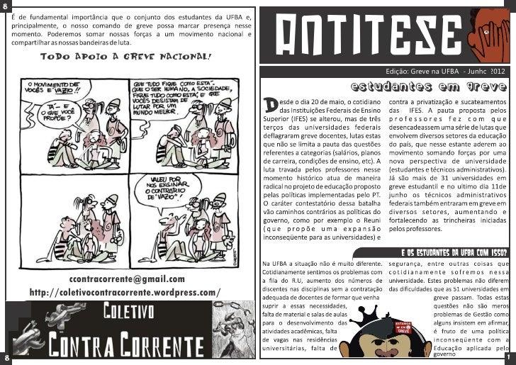 8      Todo apoio a Greve Nacional!                 antitESE                                                          Ediç...