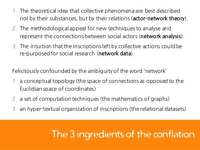 (2016) Applying the Actor-Network Theory in Media Studies ...