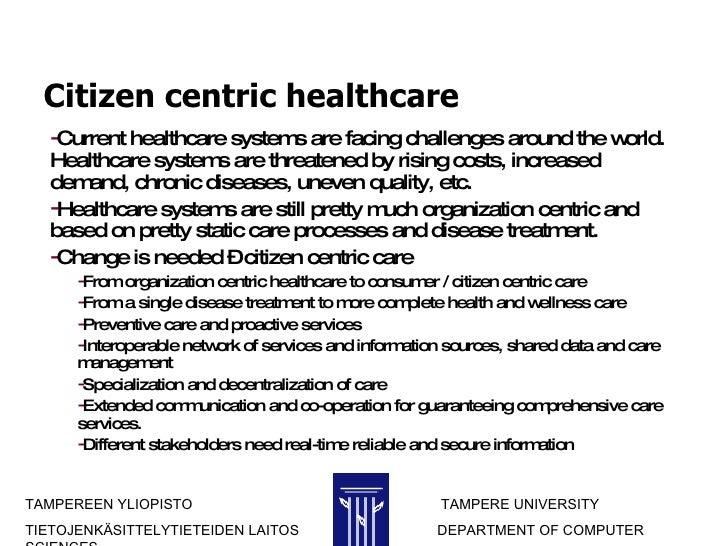 Consumer Centric Healthcare