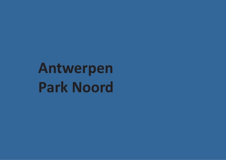 AntwerpenPark Noord