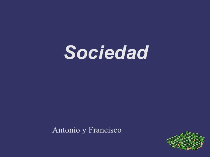 Sociedad Antonio y Francisco