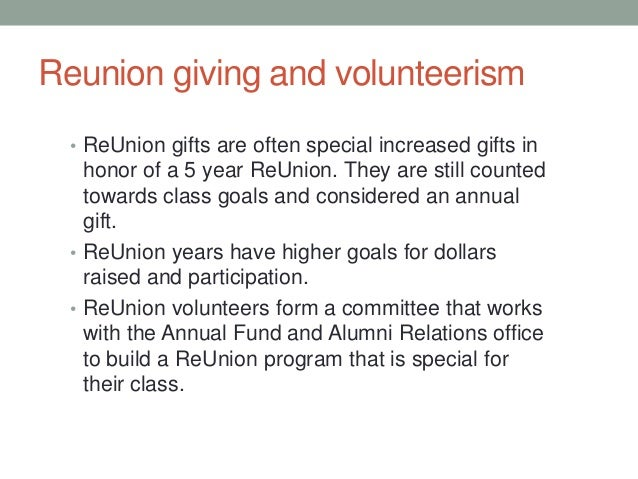 Solicitation Letter For Class Reunion