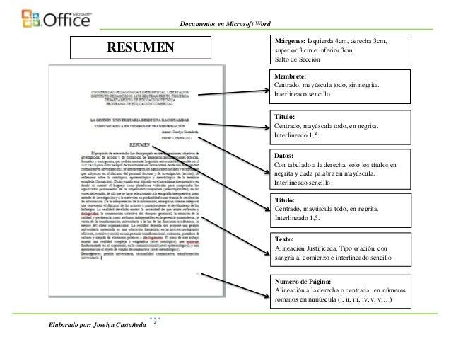 Ejemplo de como Aplicar Normas UPEL