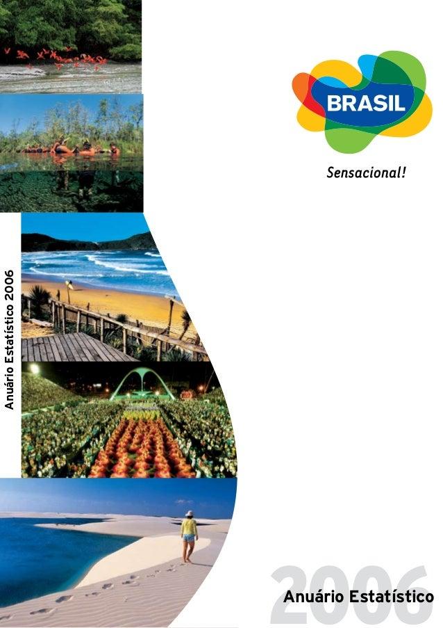 2006Anuário Estatístico AnuárioEstatístico2006