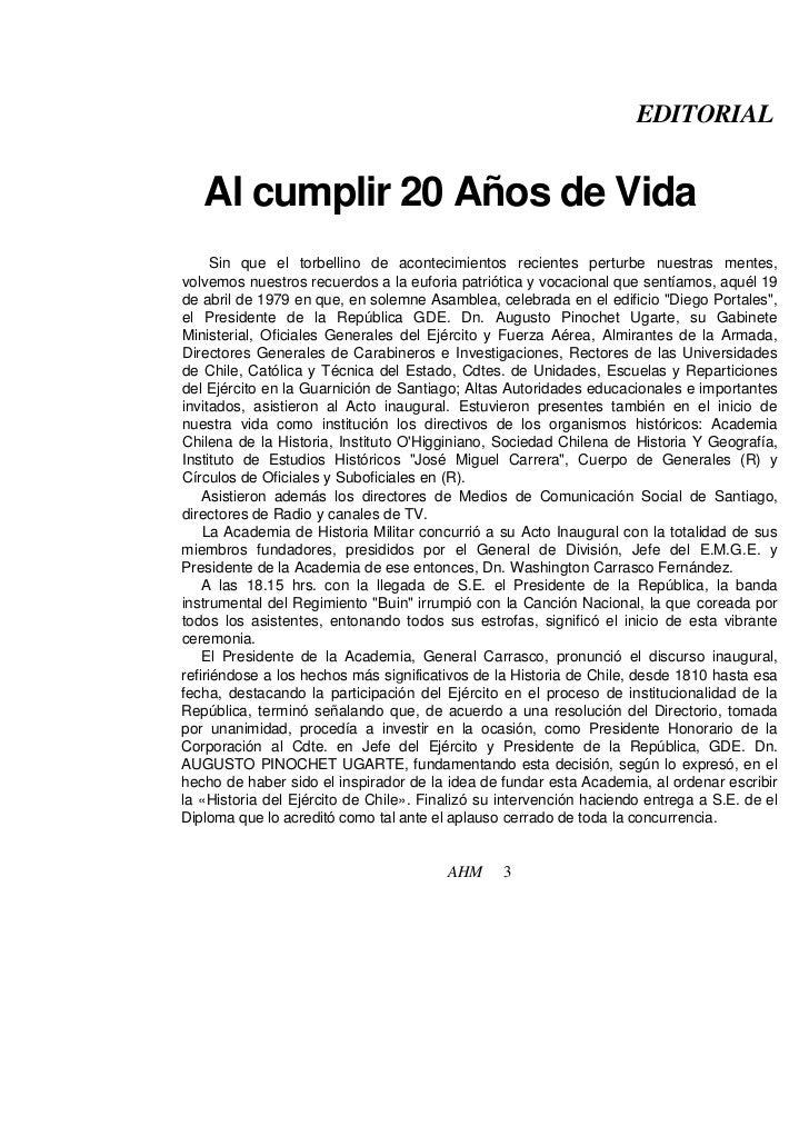 EDITORIAL   Al cumplir 20 Años de Vida      Sin que el torbellino de acontecimientos recientes perturbe nuestras mentes,vo...