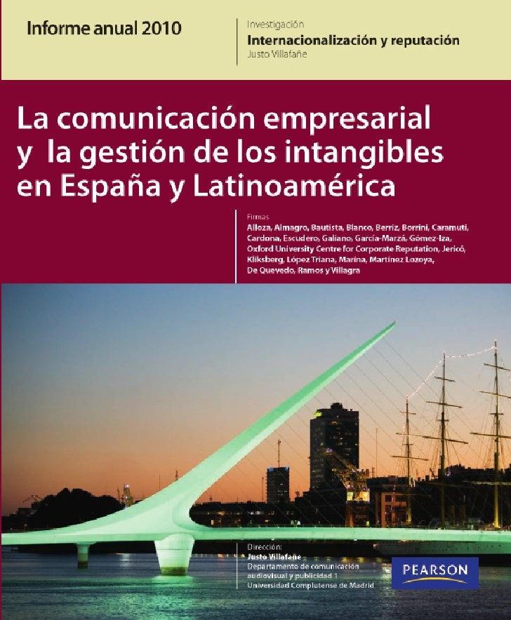 Informe                                             anual 2010                                              Investigación ...