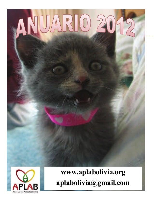 www.aplabolivia.orgaplabolivia@gmail.com