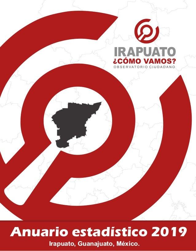 Anuario estadístico 2019 Irapuato, Guanajuato, México.