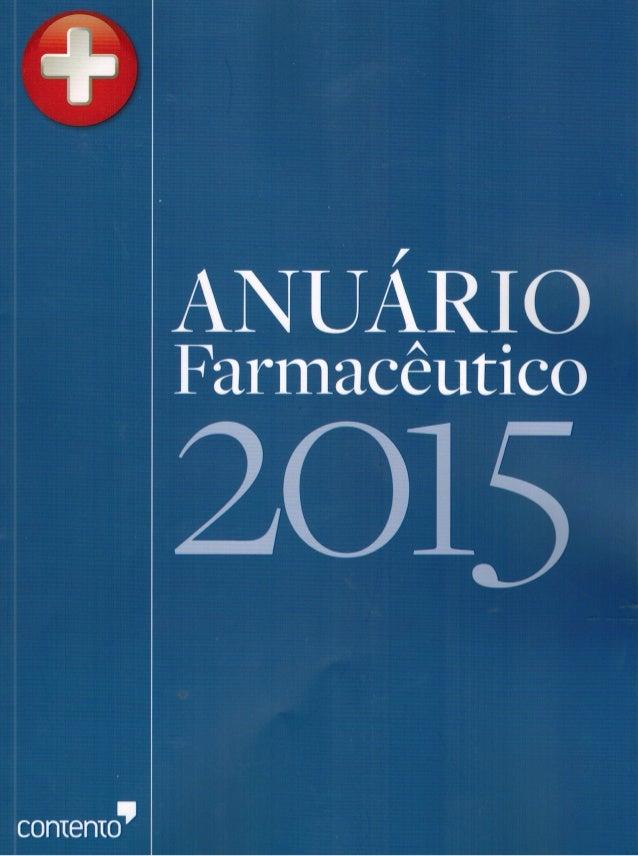 ANUÁRIO  Farmacêutico  2015