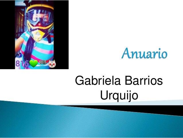 Gabriela Barrios Urquijo
