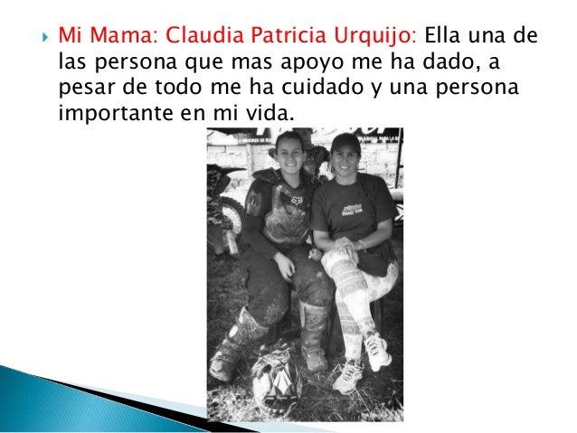  Mi Papa: Carlos Javier Barrios : Es una de las persona que me ha ayudado en mis sueños y es el que estado conmigo ya que...