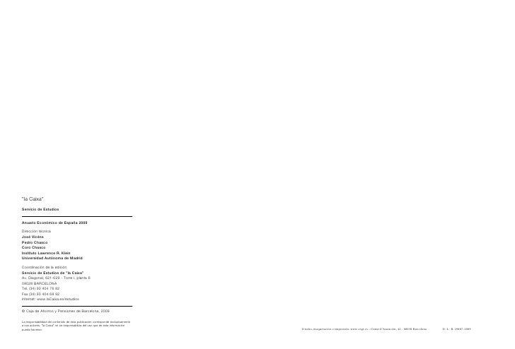 Anuario la caixa 2009 selecci n de indicadores for Avenida diagonal 621
