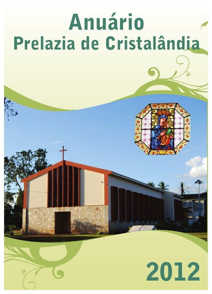 AnuárioPrelazia de Cristalândia                 2012
