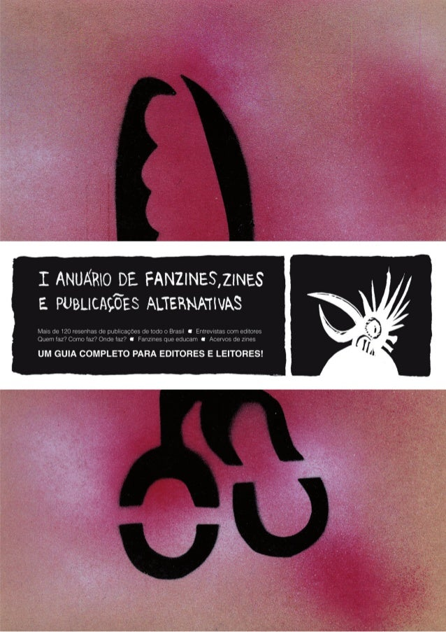 1o ANUÁRIO DE FANZINES, ZINES E PUBLICACÕES ALTERNATIVAS   1