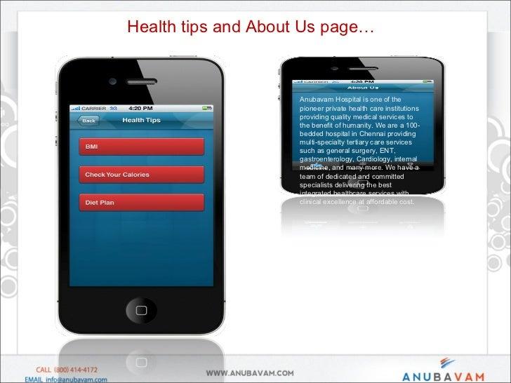 Anubavam - Healthcare / Hospital mobile app