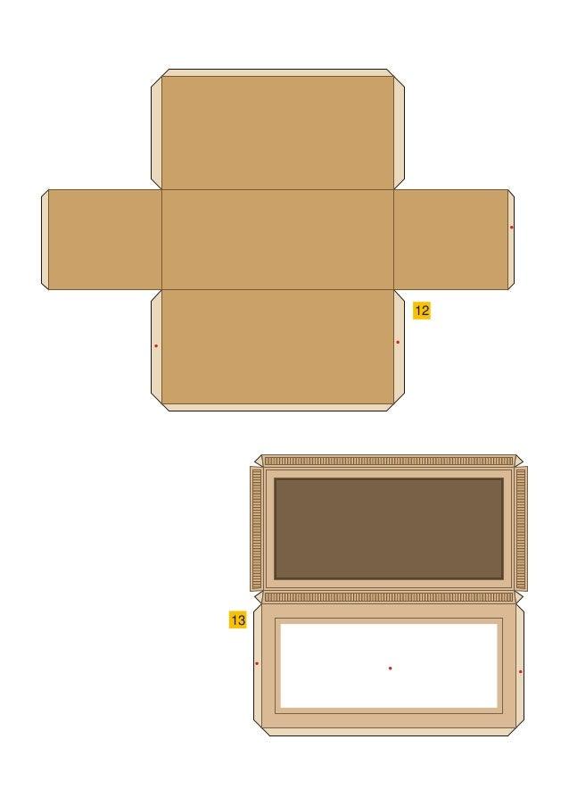Papercraft Anubis box