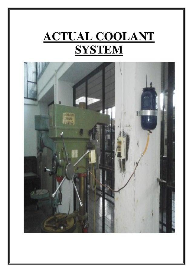 ACTUAL COOLANT SYSTEM