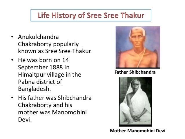 Thakur Anukulchandra & His Educational Thoughts Slide 2