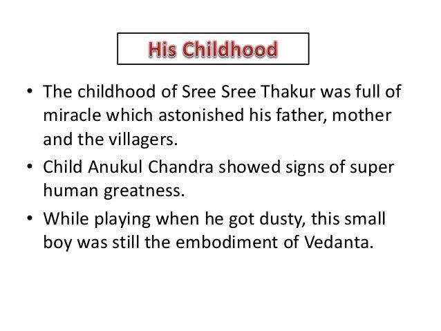 Thakur Anukulchandra & His Educational Thoughts Slide 3