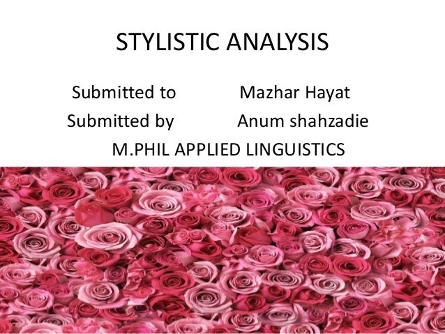 "stylistic analysis of a poem Translation article entitled a stylistic analysis of poetry translation case study of  akbar jamshidi's poem ""smile"" based on khomeijani."