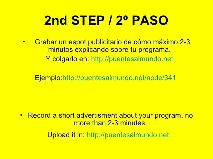 Anunciar El Programa Slide 3