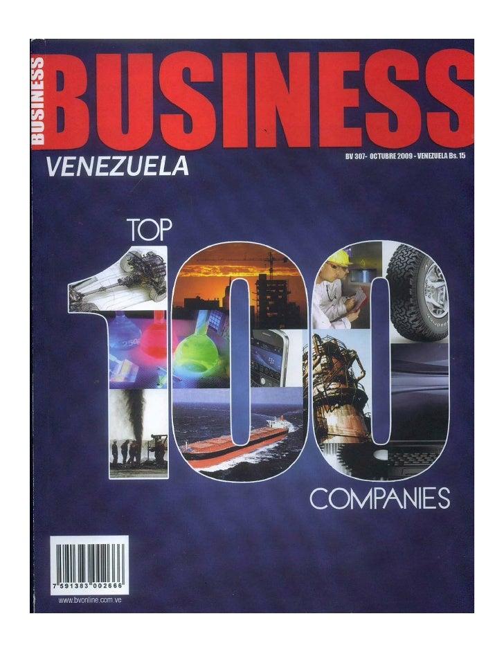 Revista Business Hecho en Venezuela Víctor García