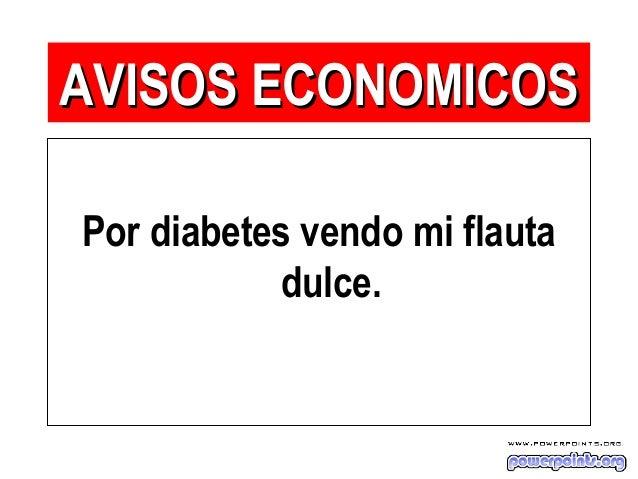Por diabetes vendo mi flauta dulce. AVISOS ECONOMICOSAVISOS ECONOMICOS