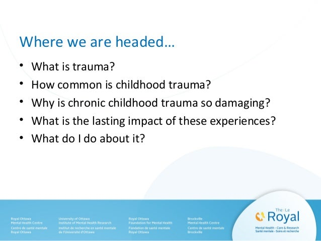 The Serious And Long Lasting Impact Of >> An Unwanted Legacy Long Term Effects Of Chronic Childhood Trauma