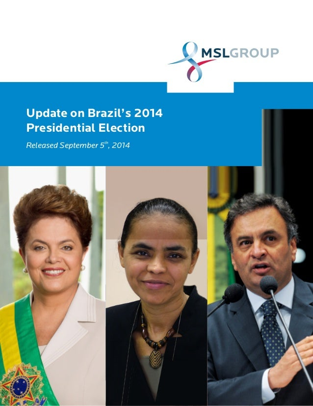 An Update on the Brazil Election - September 2014
