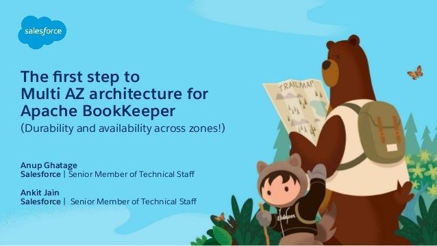 The first step to Multi AZ architecture for Apache BookKeeper (Durability and availability across zones!) Anup Ghatage Sale...