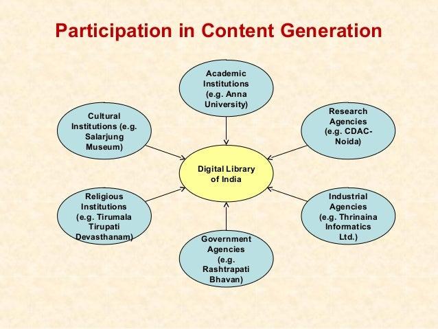 Participation in Content Generation                        Academic                       Institutions                    ...