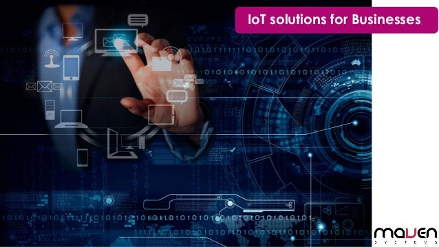 IoT solutions for Businesses