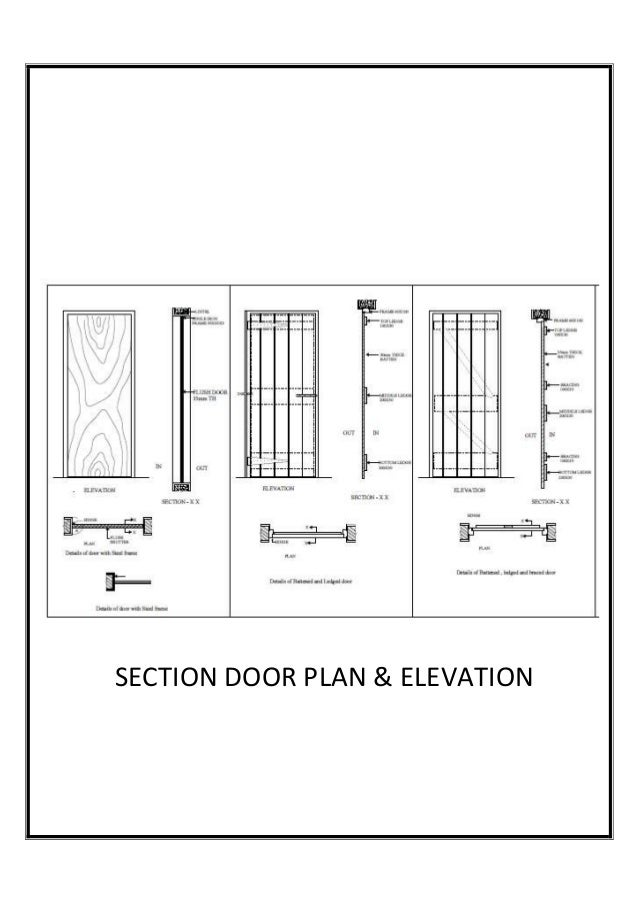 Plan Vs Elevation And Section : Plan elevation section of sofa conceptstructuresllc