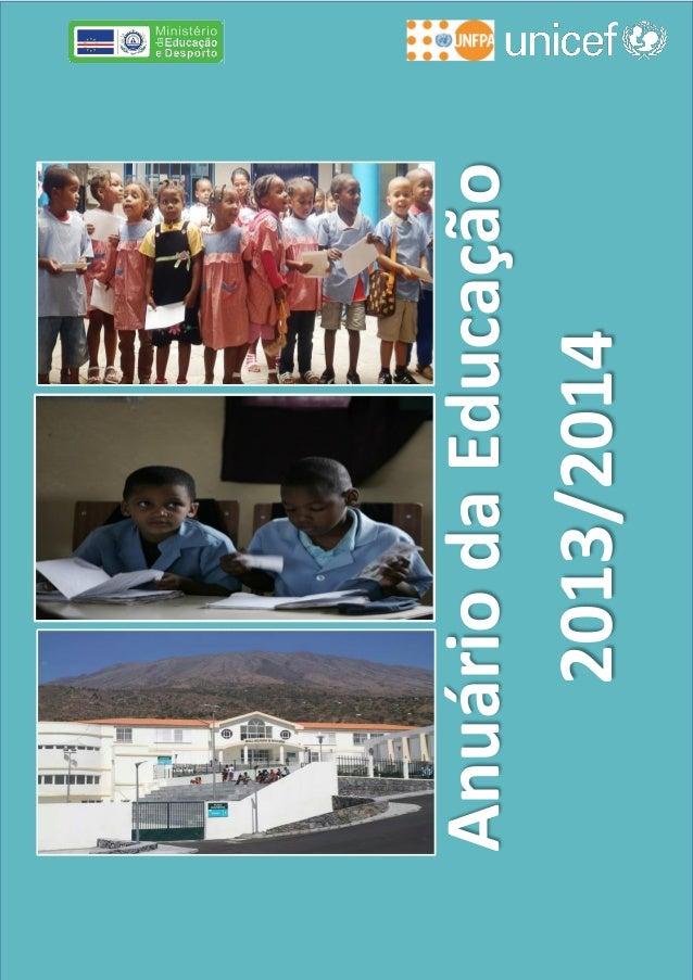 AnuáriodaEducação 2013/2014