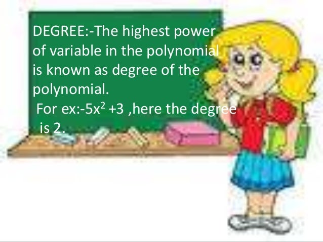 Polynomials - PowerPoint PPT Presentation