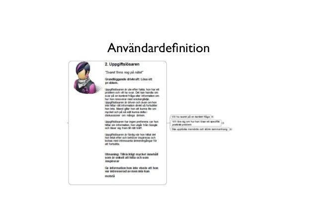 Användardefinition                                    17      BERGHS SCHOOL OF COMMUNICATION
