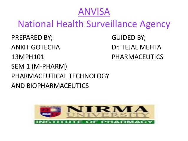 the brazilian health surveillance agency anvisa Anvisa, brazil's national health surveillance agency, has updated the list of substances that cannot be used in toiletries, cosmetics and (.