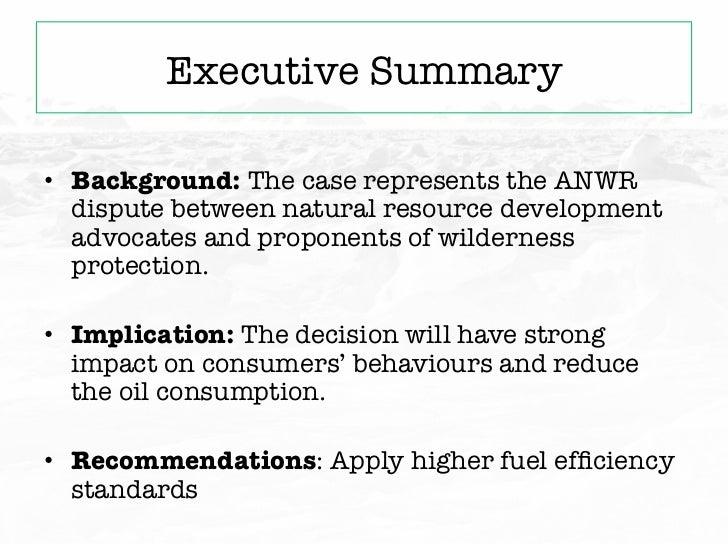 ANWR - Oil or Wilderness?   Slide 3