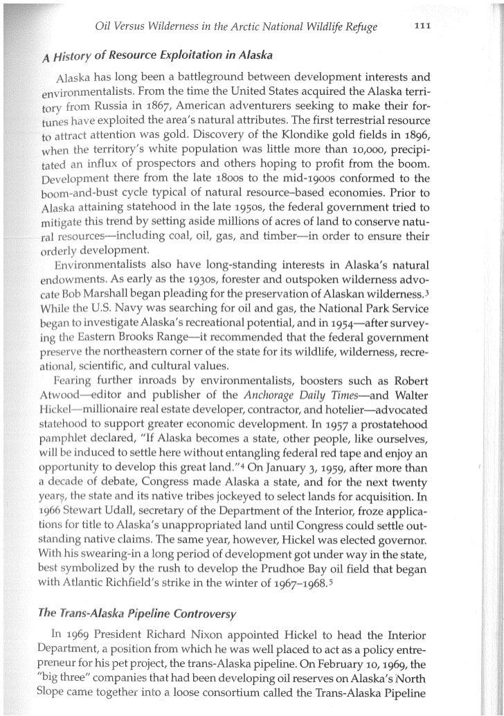 ANWR Oil versus Wilderness (chapter5) Slide 3