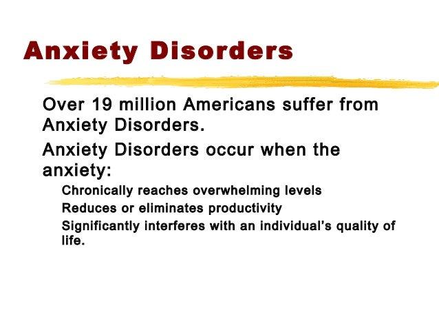 Anxiety Disorders Slide 2